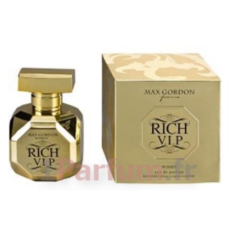 Parfum Ml Gordon Eau De Femme 100 Rich Max Vip Pour ul1cKTJ3F5